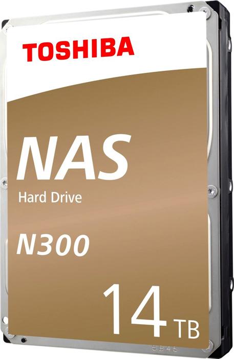 Жесткий диск 14Tb SATA-III Toshiba N300 NAS, HDWG21EEZSTA жесткий диск toshiba sata iii 10tb hdwg11auzsva nas n300 7200rpm 256mb 3 5 bulk