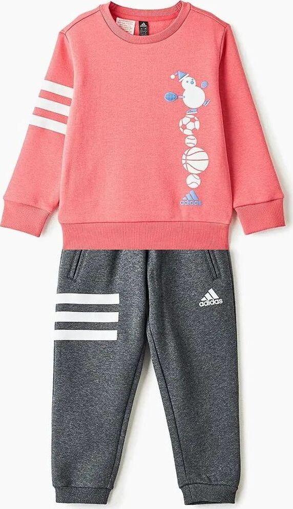 Спортивный костюм adidas Lk Gfx Crew Set цена и фото