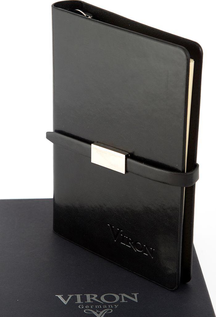 Ежедневник Viron, недатированный, 82722, черный, 80 листов