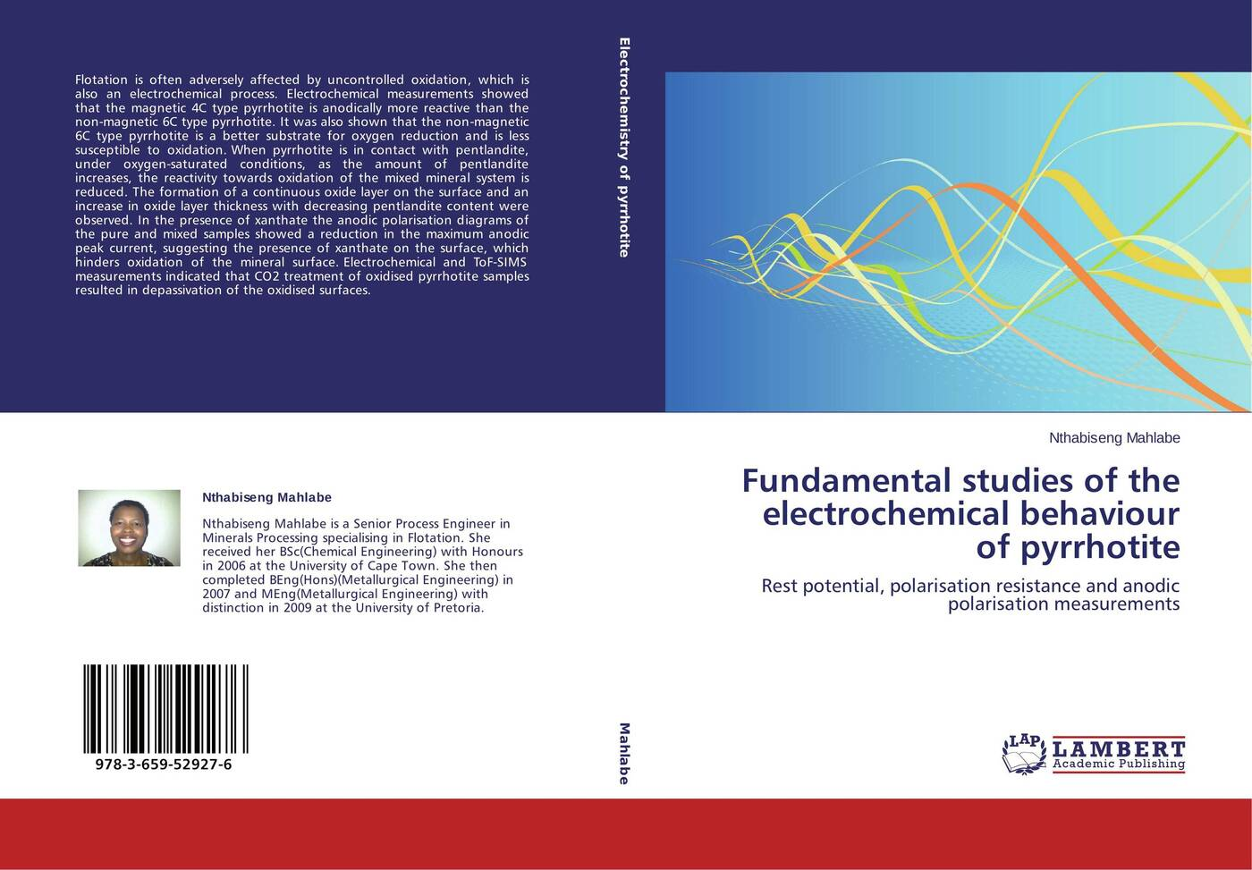 Nthabiseng Mahlabe Fundamental studies of the electrochemical behaviour of pyrrhotite oxidation of sugars
