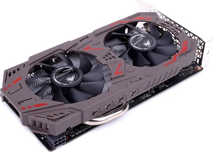 Видеокарта Colorful GeForce GTX 1060 PCI-E 3.0, 3072Mb, GDDR5, GTX1060-3GD5 V2, Retail цена и фото