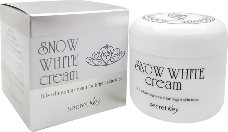 SECRET KEY SNOW WHITEОсветляющий крем для лица, 50 г Secret Key