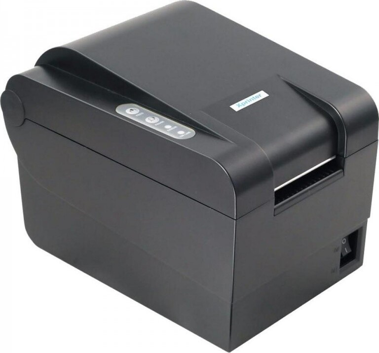 Термопринтер этикеток Xprinter XP-235B USB, 20-60mm 203dpi