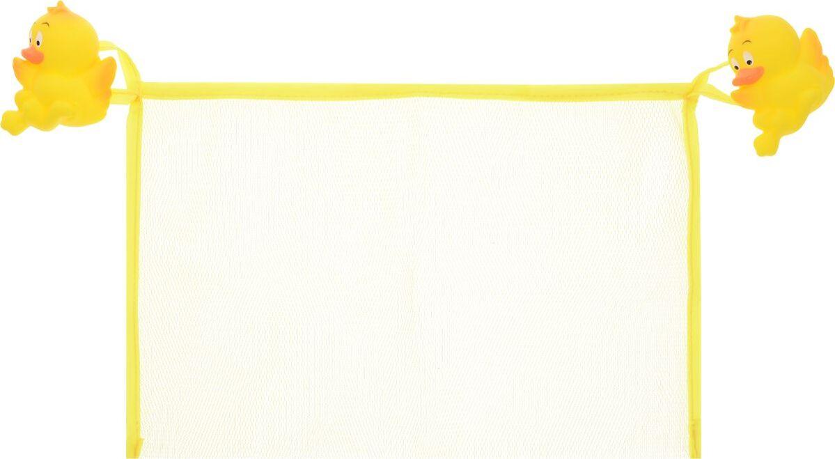 Сетка настенная на присосах для аксессуаров, 30x20 см, УТЯТА