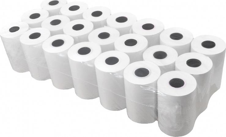 Чековая лента термочувствительная 57 мм 57*12 25 м Упаковка ( 21 шт )