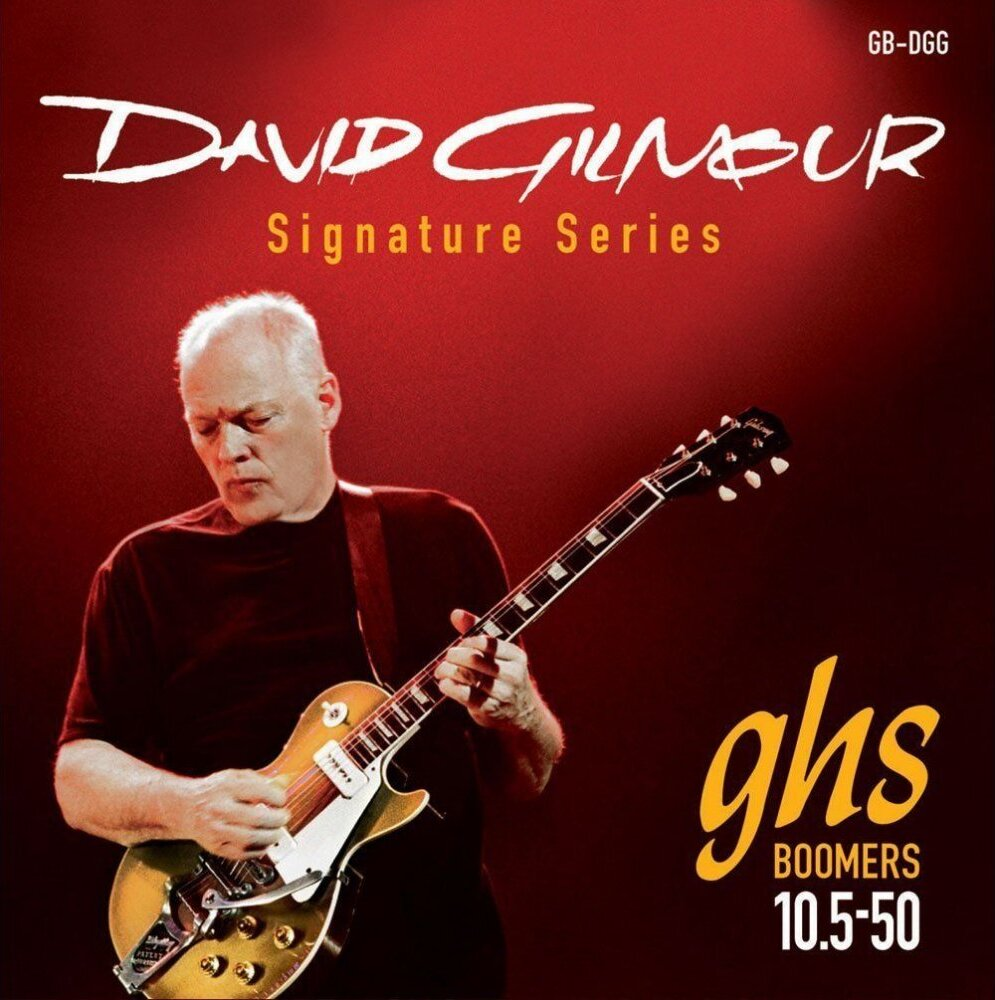 GHS GB-DGG David Gilmour Signature, Red струны для электрогитары (10,5-50)