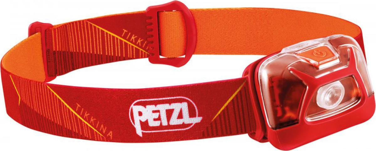Налобный фонарь Petzl Tikkina, E091DA01, красный