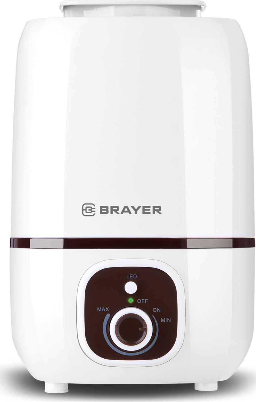 Ультразвуковой увлажнитель BRAYER, 3 л, 25 м,( 40-80%), 13 ч.