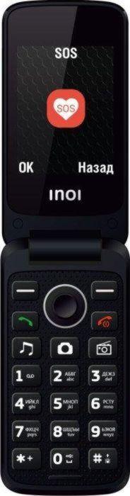 мобильный телефон inoi 247b, красный