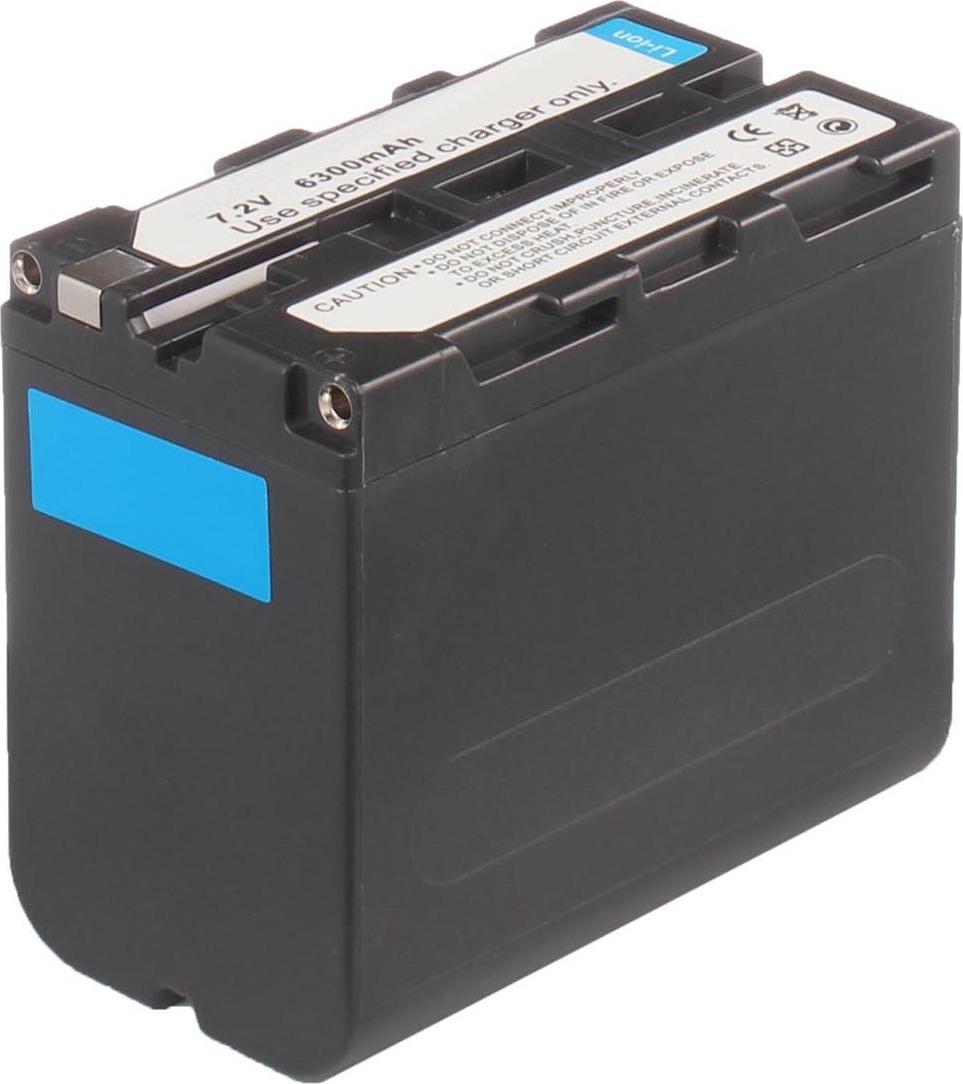 Аккумуляторная батарея iBatt iB-T2-F277 6600mAh для камер Sony CCD-TRV59E, CCD-TR411E, CCD-TR617E, DCR-TRV320E, DCR-VX2000E, DCR-VX2100, HVL-20DW2, DCR-VX2000, CCD-TR412E, CCD-TR427E, CCD-TRV87E, DCR-TRV120E, CCD-TR511E, CCD-TR730E, CCD-TRV78E,