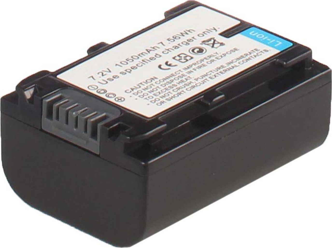 Аккумуляторная батарея iBatt iB-T4-F298 600mAh для камер Sony HDR-XR260VE, DCR-SX83E, HDR-CX550, HDR-CX740E, HDR-XR160E, HDR-CX150E, HDR-TD10E, HDR-XR260E, DCR-SX83, HDR-CX260E, HDR-PJ420E, HDR-XR350, HDR-CX160E, HDR-CX260VE, HDR-CX350, HDR-XR100,