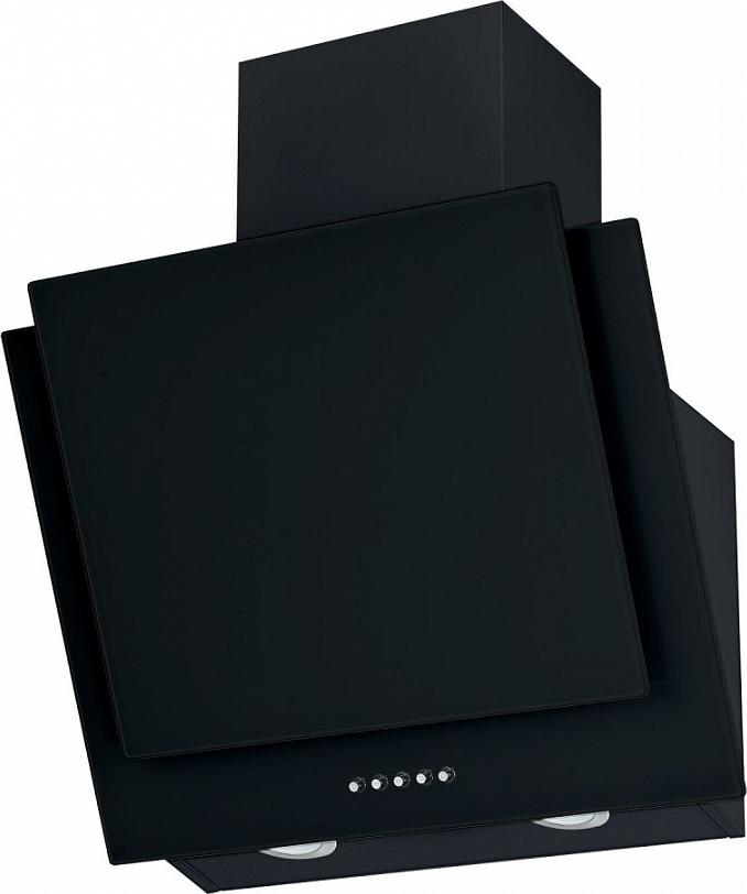 Кухонная вытяжка MAUNFELD WIND PUSH 50 черный На ваш выбор можно сделать отвод в вентиляционное отверстие...
