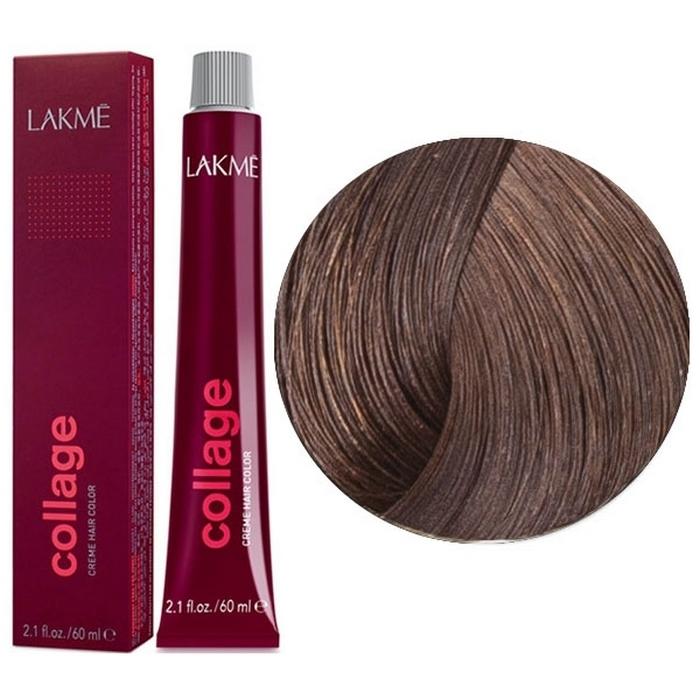 Перманентная крем- краска для волос COLLAGE 6/40 Темный блондин медный LAKME 26401
