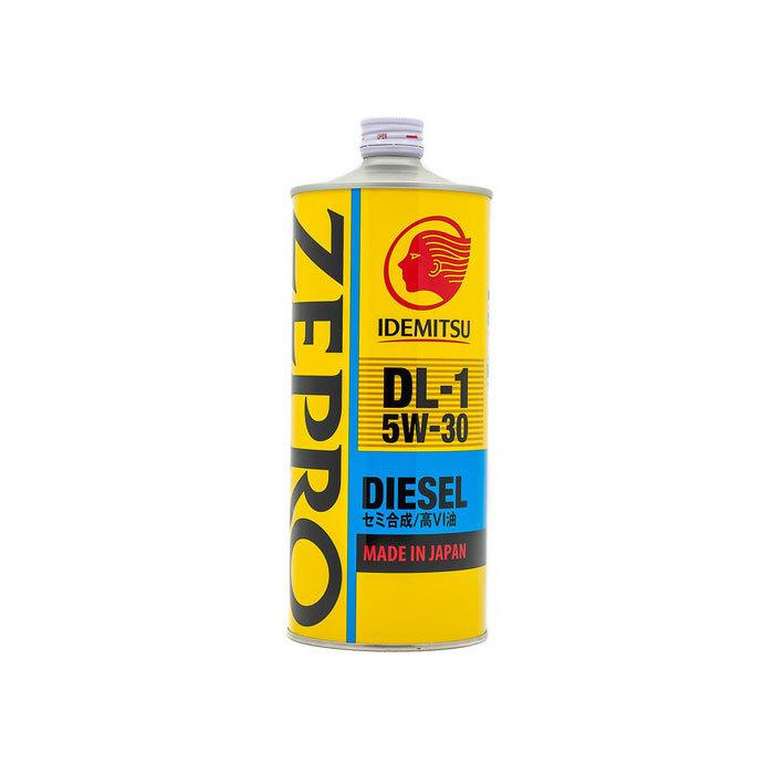 Моторное масло IDEMITSU ZEPRO DIESEL DL-1, полусинтетическое, 5W-30, 1 л 2156001