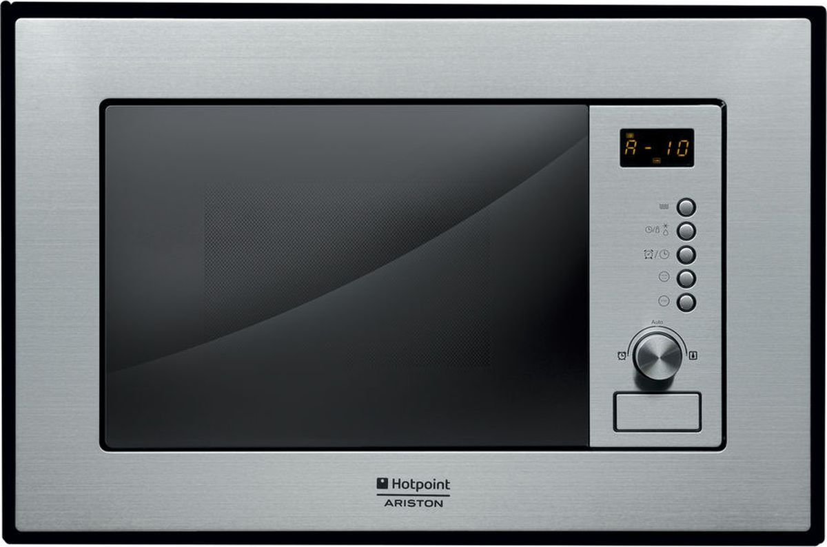 Встраиваемая микроволновая печь Hotpoint-Ariston MWA 121.1 X/HA, серебристый