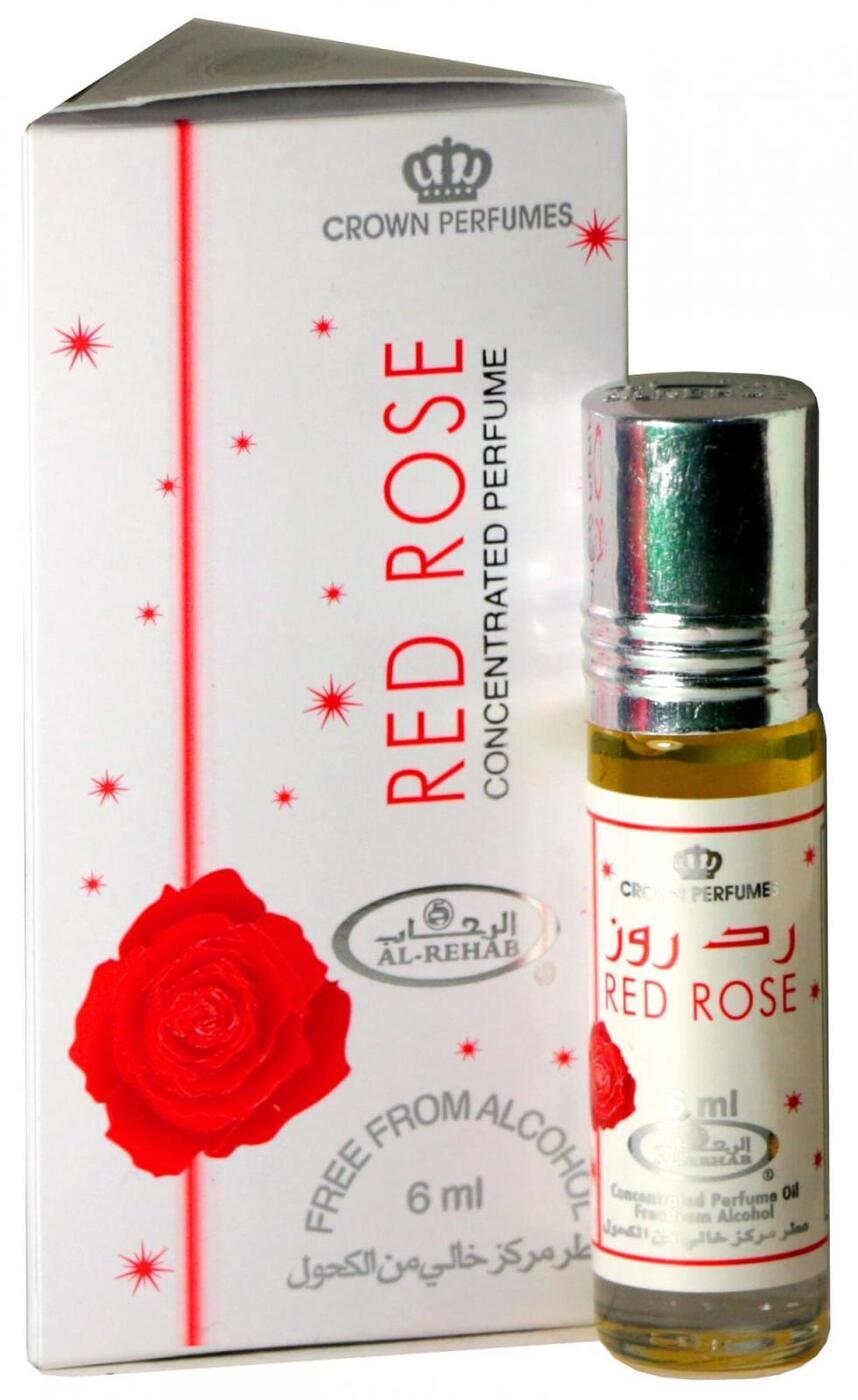 Al Rehab Red Rose / Красная Роза, 6 мл 6 мл