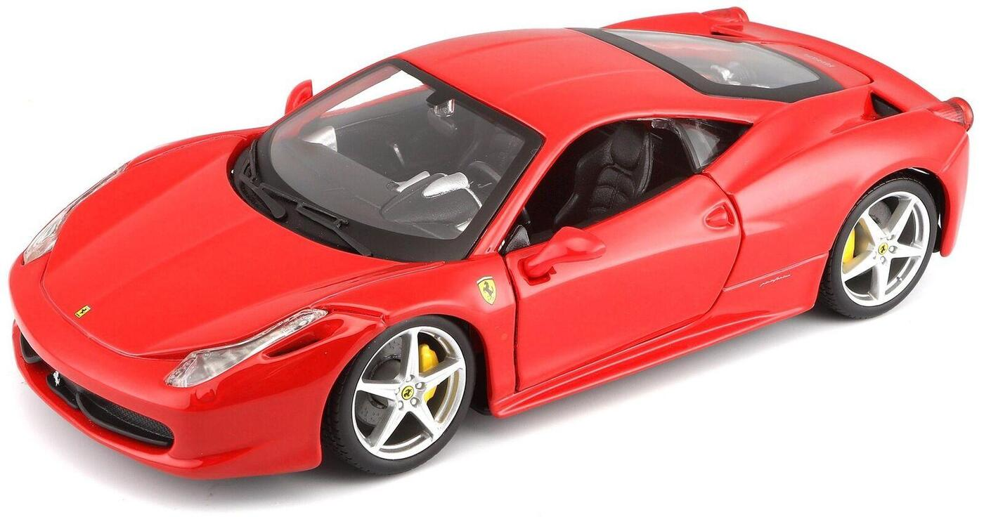 "BBURAGO ""Коллекционнная машина BB 18-26003 1:24 FERRARI 458 ITALIA RED, Красный"""