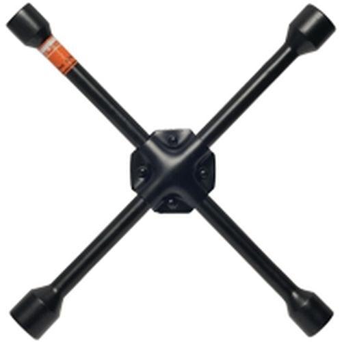 Ключ баллонный-крест АвтоDело 30817 17*19*21*22, черн.лак,усиленный