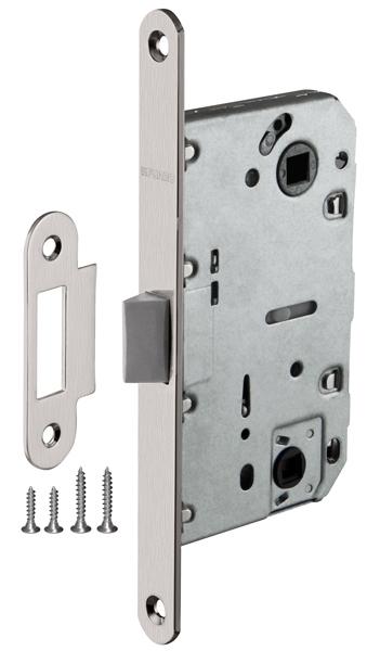 Защелка сантехническая FUARO Plastic P96WC-50 SN мат. никель