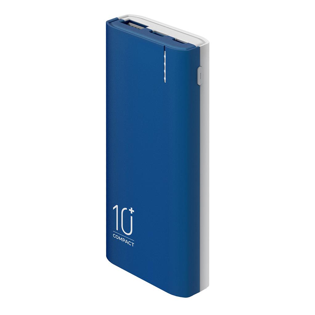 Внешний аккумулятор 10000mAh OLMIO C-10 2.1A (Soft-touch корпус)