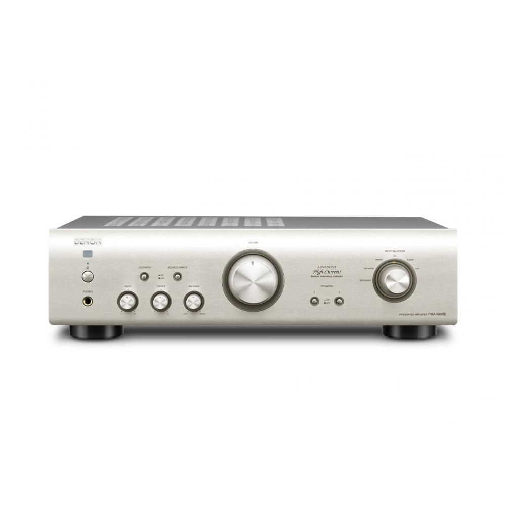 DENON Integrated  Amplifier 100V 50-60Hz, Premium Silver, PMA-390RESP (Japanese Import)