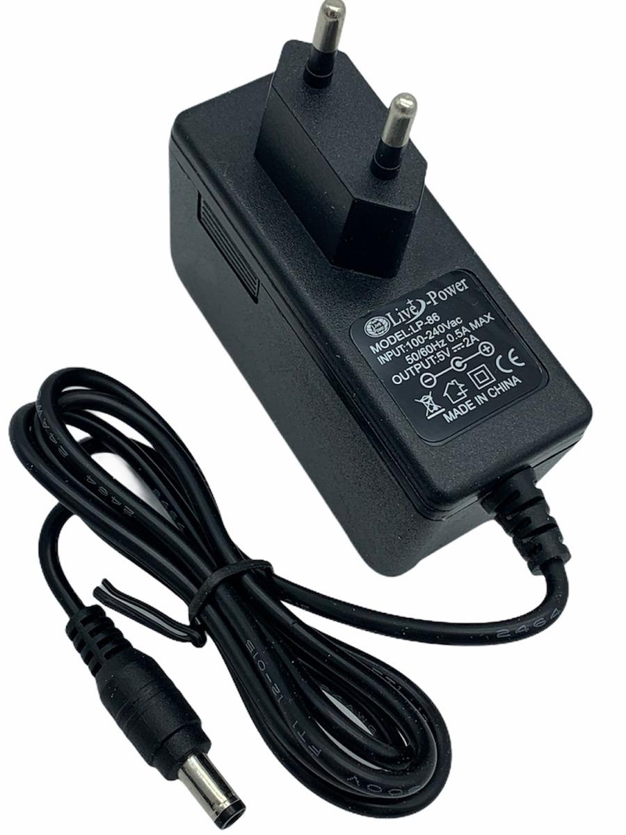Блок питания (сетевой адаптер) для цифровых приставок DVB-T2 LP-86 5V/2A (5.5x2.5мм.)