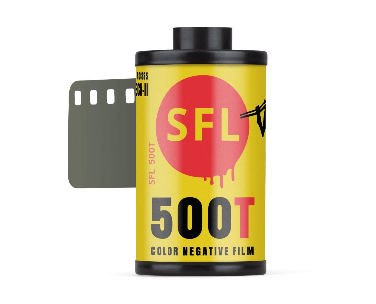 фотопленка sfl kodak 500t (135/36) цветная негативная в кассете