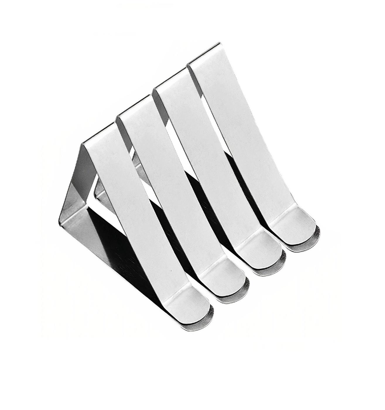Зажимы для скатерти / фиксатор для скатерти / клипсы для скатерти / держатель для скатерти / зажимы кухонные 4 шт.