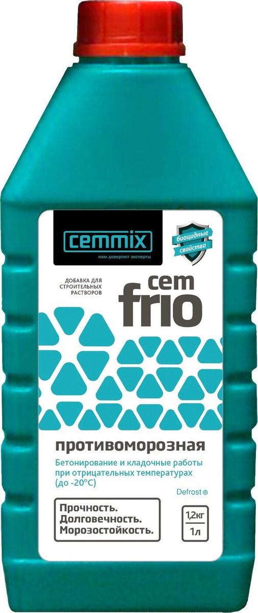 Противоморозная добавка CemFrio 1 литр #1
