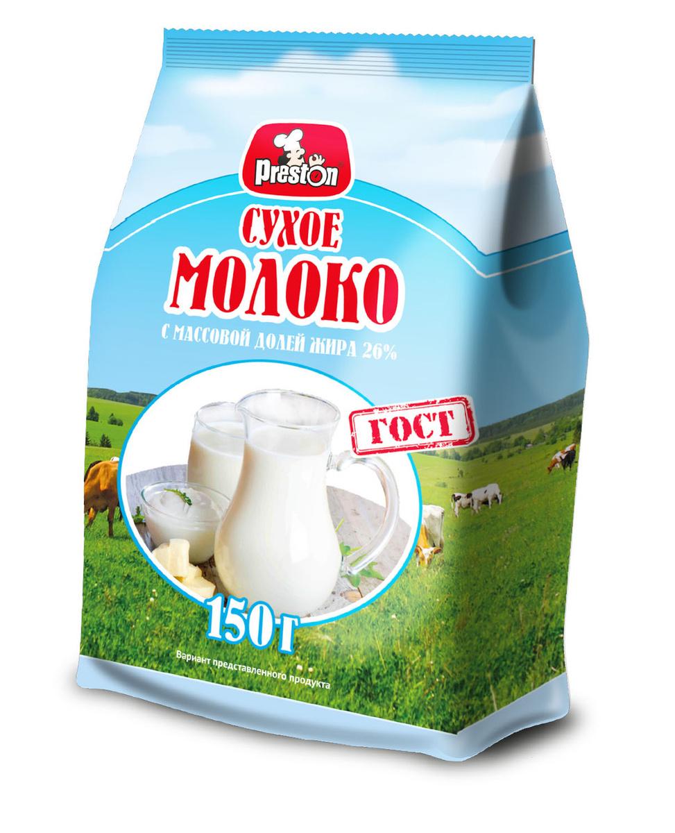 """Молоко цельное сухое """"Preston"""", 150 г #1"""