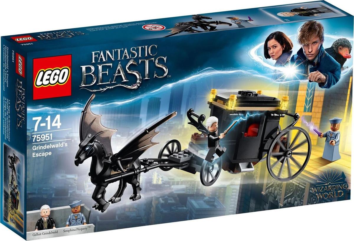 Конструктор LEGO Harry Potter 75951 Побег Грин-де-Вальда #1
