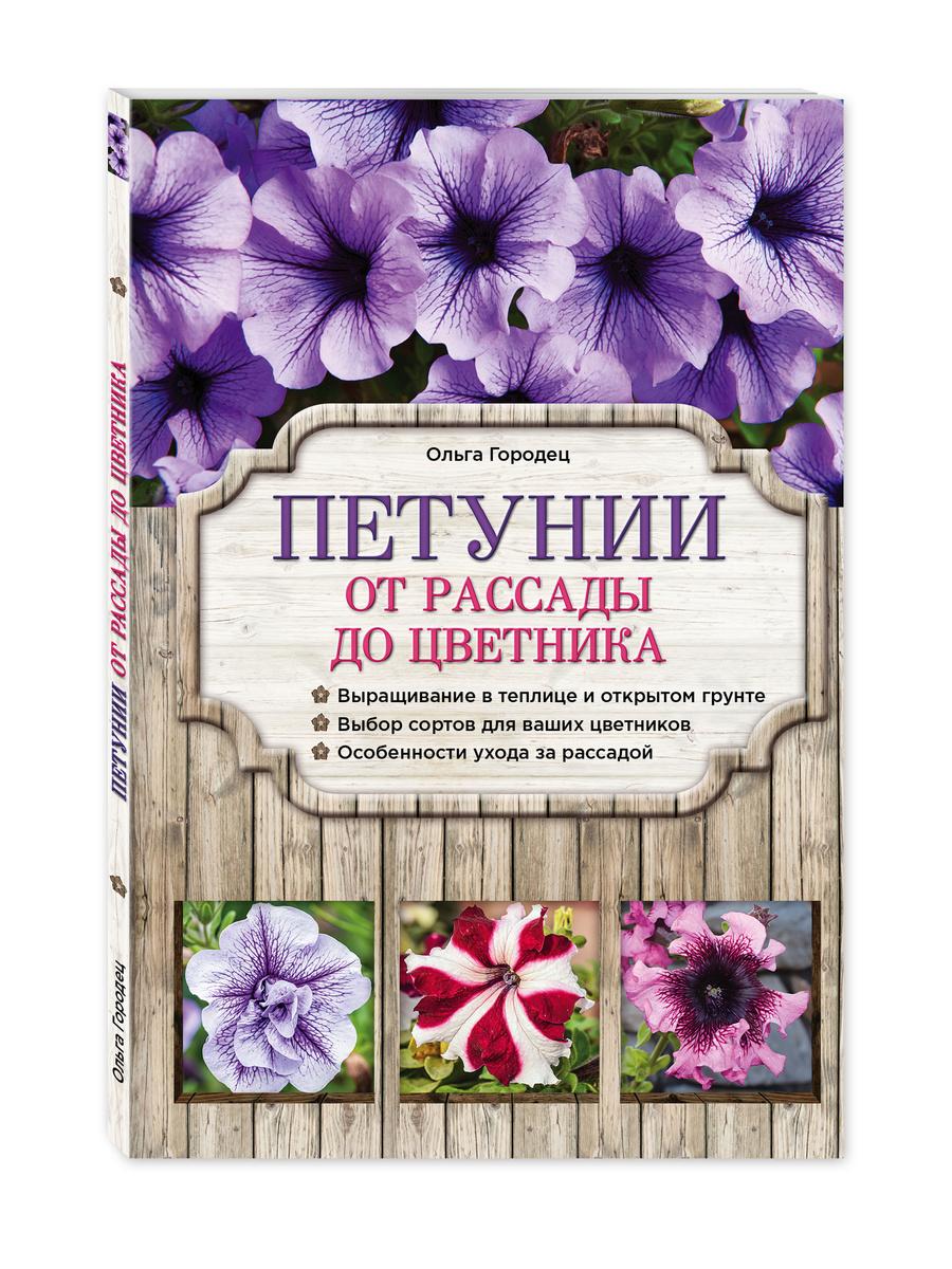 Петунии. От рассады до цветника | Городец Ольга Владимировна  #1