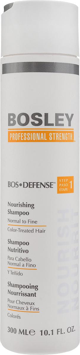 Bosley Шампунь питательный, для нормальных, тонких и окрашенных волос, 300 мл  #1