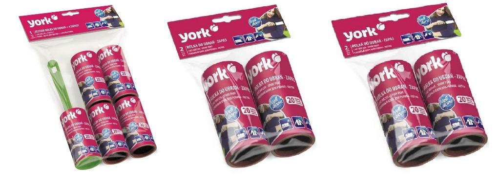 Ролик для одежды + 8 сменных блока York #1