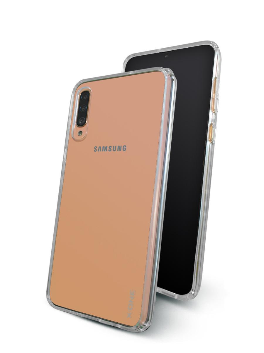 Чехол для Samsung Galaxy A70 X-ONE DropGuard Lite White Прозрачный Противоударный  #1
