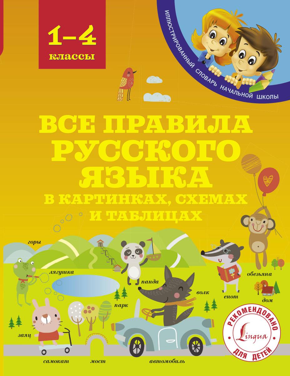 Все правила русского языка в картинках, схемах и таблицах   Матвеев Сергей Александрович  #1