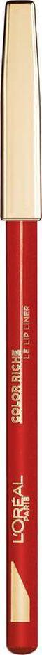 L'Oreal Paris Color Riche Le Lip Liner Лайнер для губ, тон 125 кирпично красный  #1