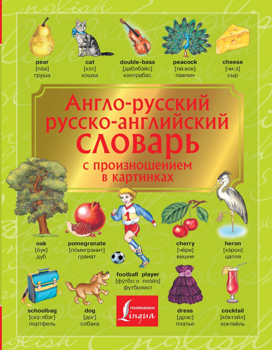 Англо-русский. Русско-английский словарь с произношением в картинках   Нет автора  #1