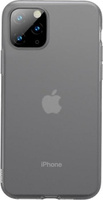 Чехол Baseus Jelly Liquid Silica Gel Protective Case For iPhone 11 Pro Max Transparent Black