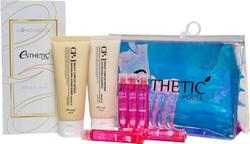 ESTHETIC HOUSE Питательный набор для ухода за волосами 100 (шампунь+кондиционер+маска-филлер+косметичка), 4 шт. Наборы скидка до 20%