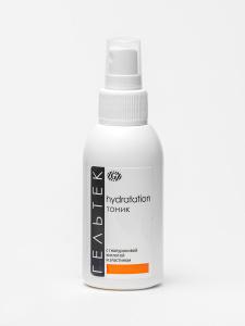 Гельтек Hydratation Тоник (Тонер) с гиалуроновой кислотой и эластином для сухой и чувствительной кожи, 100 мл. Вместе дешевле!