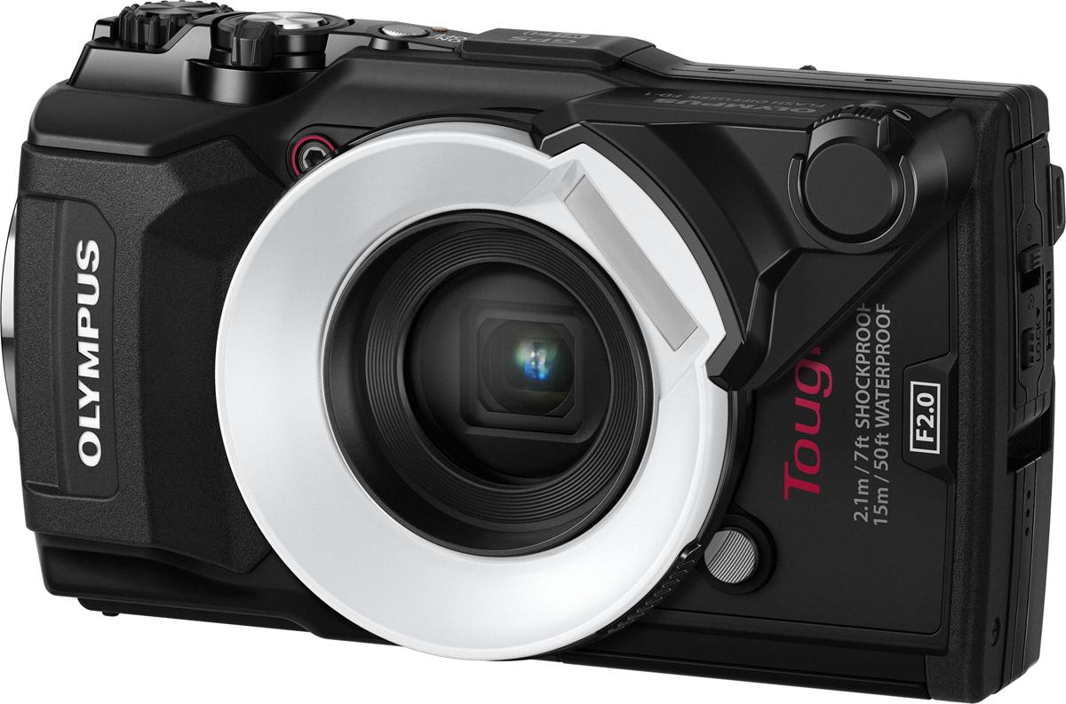 Защищенный фотоаппарат Olympus Tough TG-5 FD-1 Kit, черный
