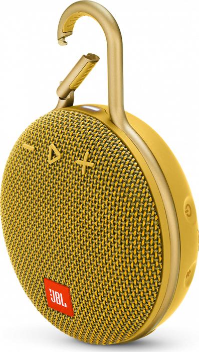 Портативная акустическая система JBL Clip 3 Yellow