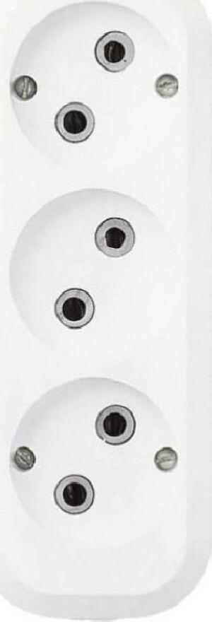 лучшая цена Удлинитель бытовой Duwi Eco, 32031 9, 3 гнезда, 3 м