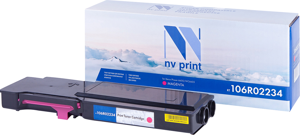 Картридж NV Print для Phaser 6600/WorkCentre 6605, NV-106R02234M цена и фото