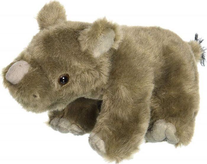 Мягкая игрушка Wild Republic Детеныш носорога, 23 см