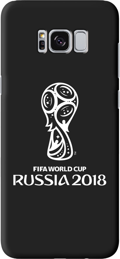 Чехол TPU для Samsung Galaxy S8, FIFA Official Emblem white, Deppa чехол fifa 2018 official emblem white для samsung a5