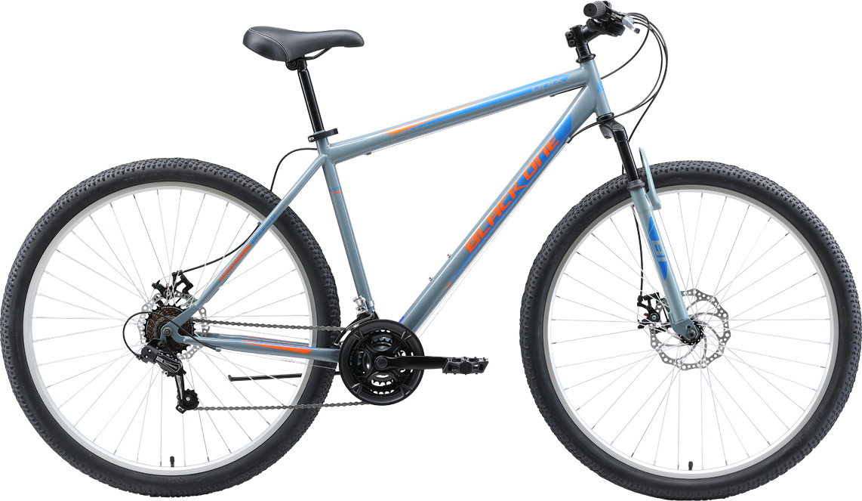 Велосипед BLACK ONE Onix 29 D 2019 22 серый/оранжевый/голубой