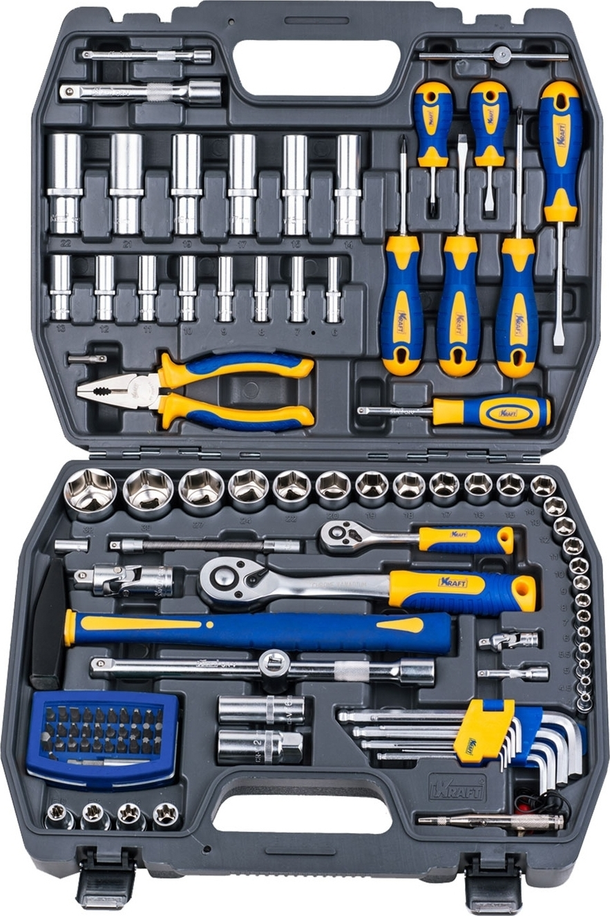 Набор ручного инструмента KRAFT КТ 700678 (109 предметов) mizumi 26 x 1 75 2 0 с велониппелем