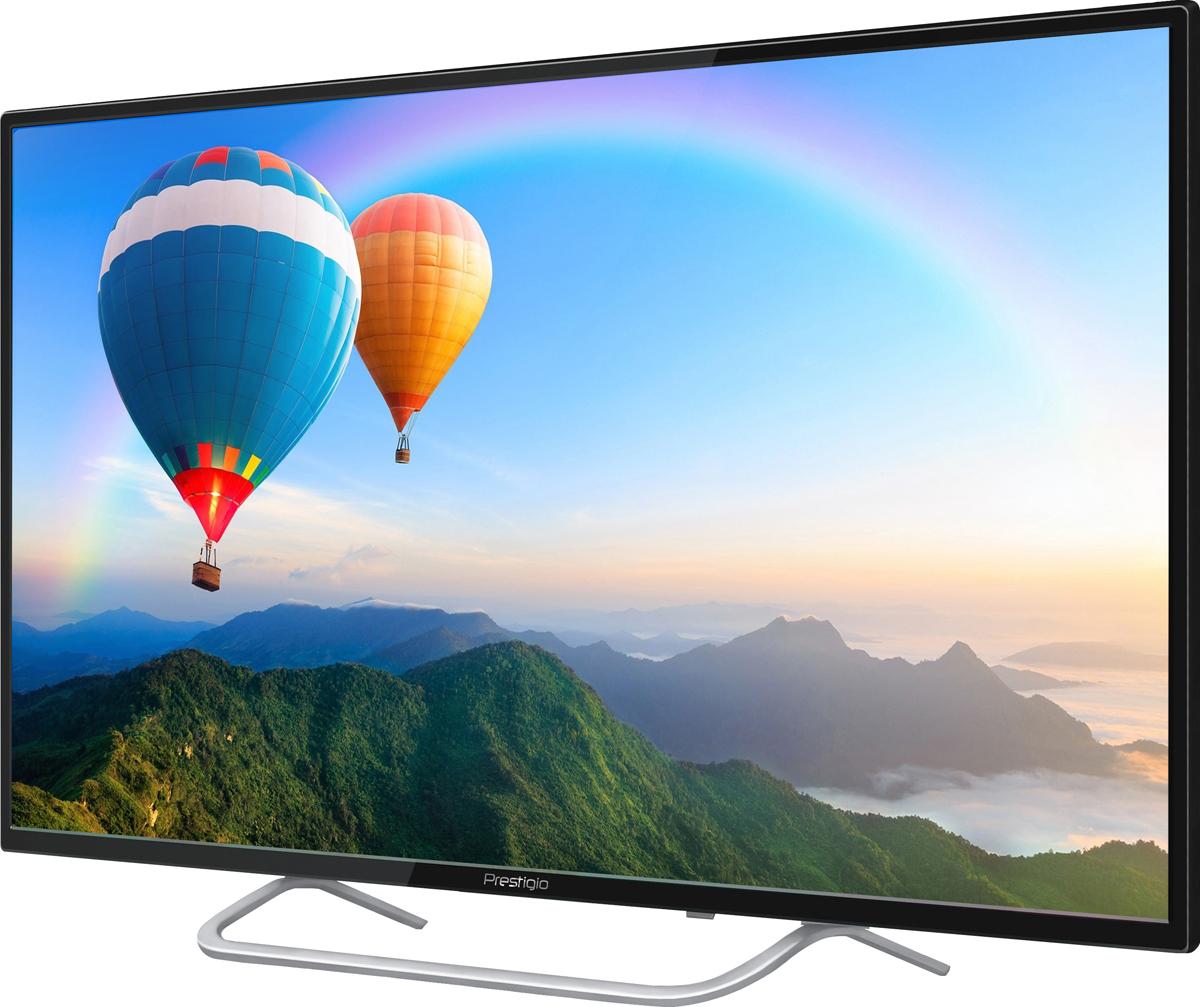 Телевизор Prestigio PTV55SS03Y_BK_CIS 55, черный телевизор 6 метров